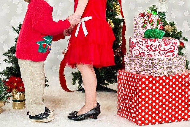 vánoce děti