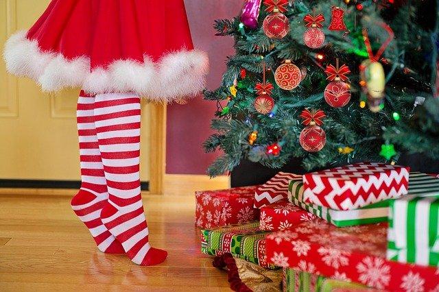 dárečky pod stromkem