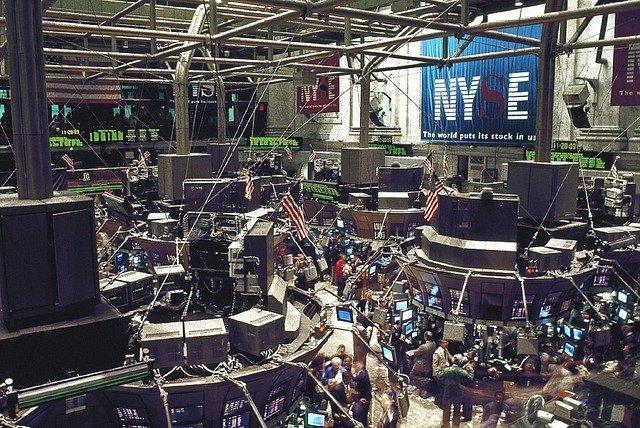burza obchodní podlaží new york