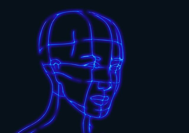 silueta hlavy