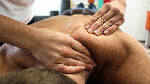 fyzio masáž
