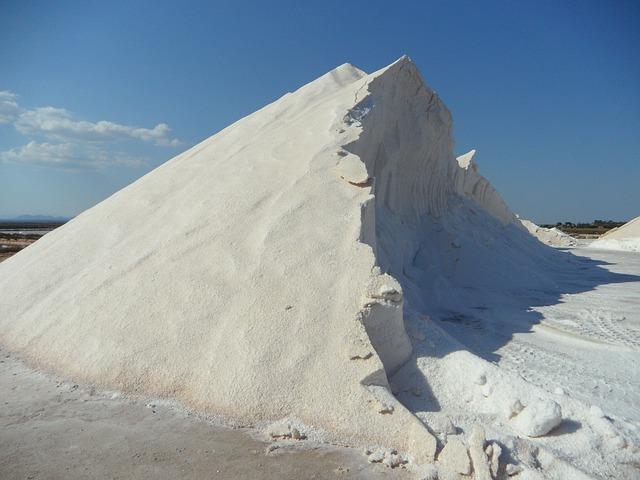 zpracovaná sůl