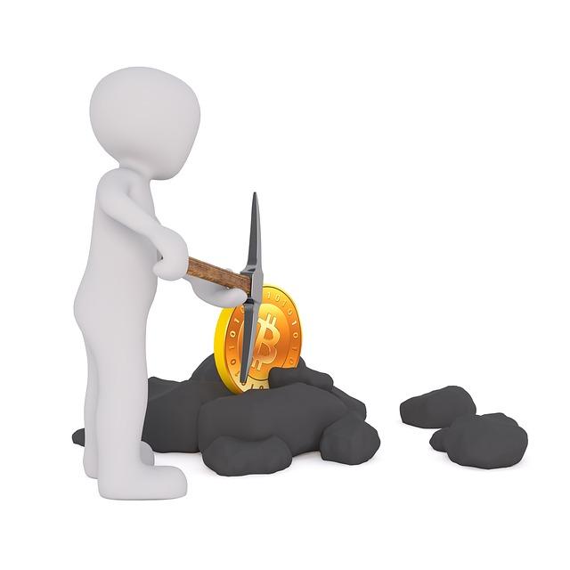 bitcoin mining těžba