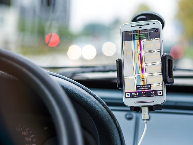 gps doprava v mobilu
