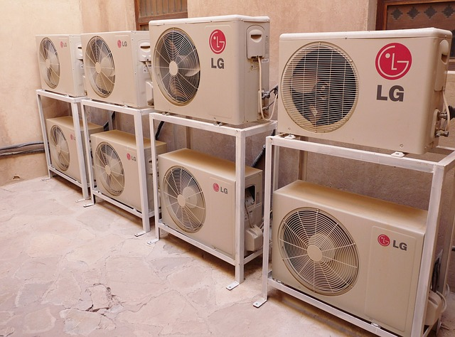 osm klimatizací LG