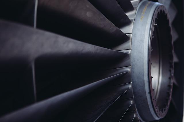 turbína ventilátoru