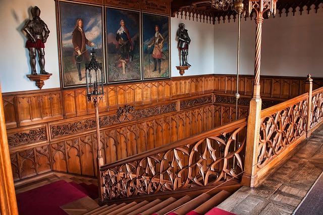 Interiéry zámku Lednice