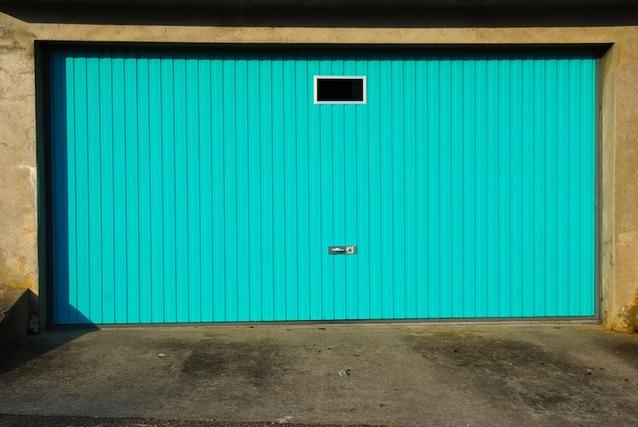 nová vrata modrá