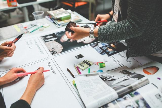 kreativní tým, design