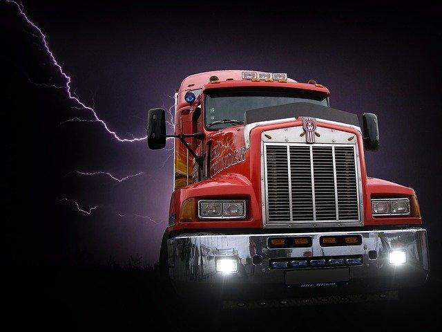 moderní kamion