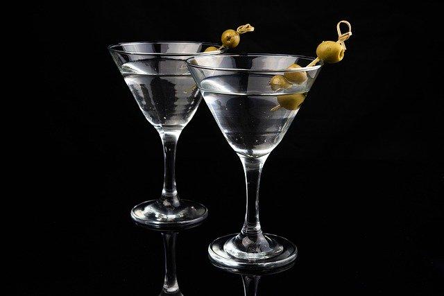 koktejl z ginu